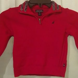 Boys Nautica medium sweater